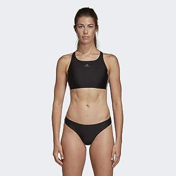 adidas Damen Fitness 3-Streifen Bikini-Set