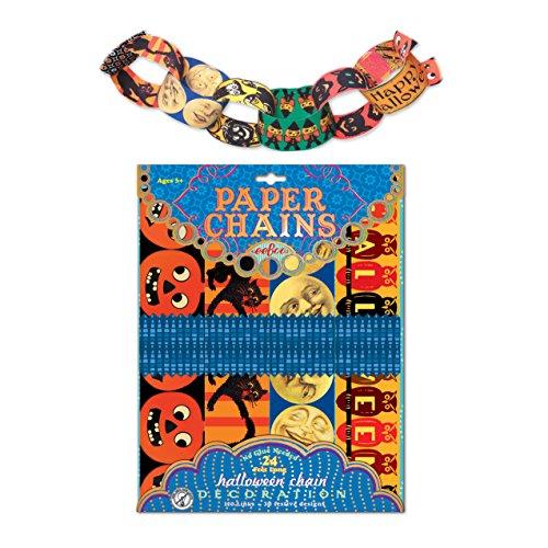 eeBoo Halloween Paper Chain, 120 CT -