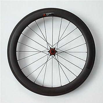 YouCan bicicleta 700 C ruedas de bicicleta de carretera de carbono Tubular 60 mm Altura 20,5 mm anchura 29er ruedas: Amazon.es: Deportes y aire libre