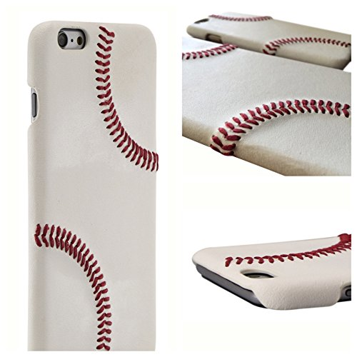 Leather Baseball Cell Case - 1