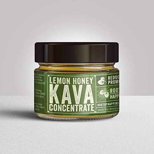 Kava Concentrate Paste – Premium 50g Jar