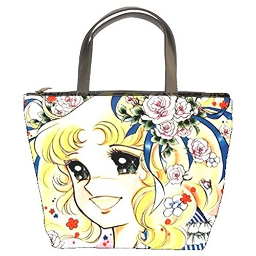 Girly Japanese Anime Cartoon CANDY CANDY Bucket Bag 2 Sides #01