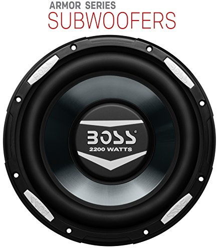 BOSS Audio AR10D 2000 Watt, 10 Inch, Dual 4 Ohm Voice Coil Car Subwoofer