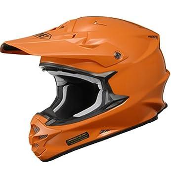 Shoei VFX-W metálico cascos de motocross – naranja – Tamaño Mediano