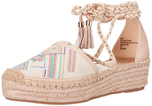 Nanette Nanette Lepore Mujer Bitsy Alpargata cuña sandalias Natural