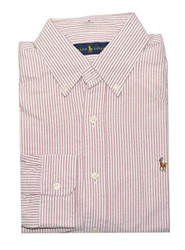 Polo Ralph Lauren Men's Vertical Stripe Oxford (Ralph Lauren Stripe Shirt)