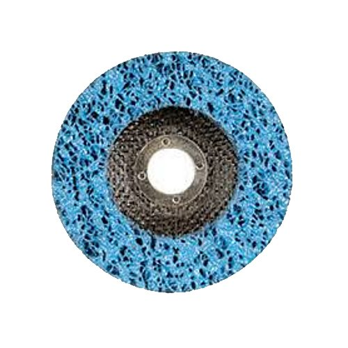0.875 Width 4.5 Length 0.875 Width Paper Backing R Grit Blue Resin Pack of 5 Gemtex Abrasives 55064 Depressed Centre Style Cup Discs 4.5 Length