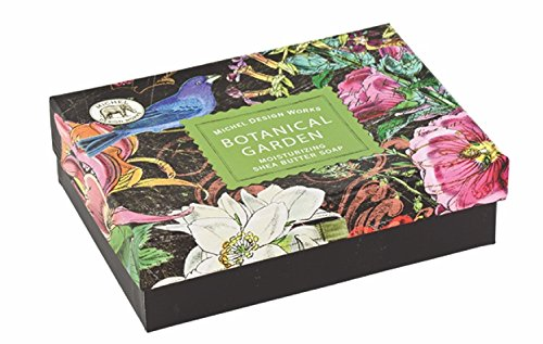 Michel Design Works Botanical Garden Triple Milled Double Soap Box Set (Evelyn Gift Sets)