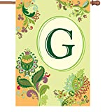 Cheap Premier Kites 52367 Spring Monogram House Flag, Letter G, 28-Inch