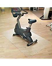 casa pura Vloermat/onderlegmat voor hometrainer, ergometer, crosstrainer en andere fitnessapparaten, 7 maten