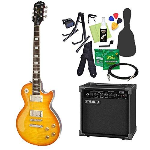 【限定製作】 Epiphone Limited Edition Les Les Paul Standard Plustop PRO Dirty エピフォン Lemon Lemon エレキギター 初心者14点セット ヤマハアンプ付き レスポール エピフォン B07CPTTDGB, ビビマックス:b3d2f02f --- arianechie.dominiotemporario.com