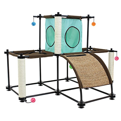 Kitty City Steel Claw Starter Kit Cat Furniture (Kitty Playground)