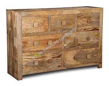 Victorian Pine Extra Large Chest Of Drawers