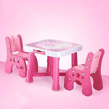 Juego de sillas de mesa de actividades Mesa de estudio y silla ...