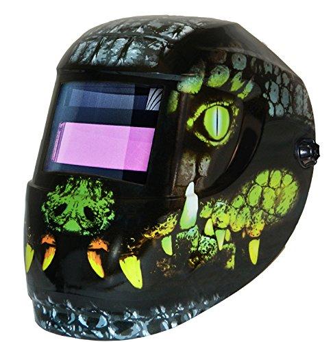 ArcOne 1000F-0173 Carrera Welding Helmet with 1000F Shade Master Filter, Croc