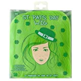 Kole Imports OH023 St. Patrick's Day Adult Wig, Green
