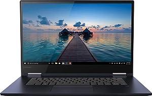 Lenovo Yoga 730 2-in-1 15.6-inch FHD Touchscreen Premium Laptop PC, Intel Quad Core i5 Processor, 16GB DDR4 Memory, 512GB PCIe SSD, Bluetooth, Backlit Keyboard, Windows 10, Blue