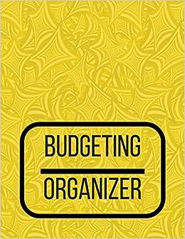 Budgeting Organizer Budgeting Planner 2018 2019 Finance Monthly