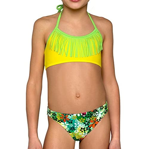 Maillot De Bain 2 Pieces, Le Tankini Et Le Bikini Pour Filles Gamme D'Ete