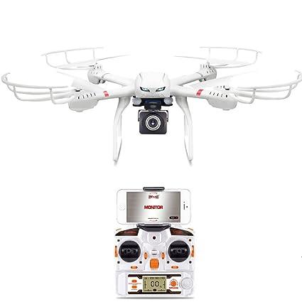 GoolRC MJX X101 2.4G 4CH 6 Axes Gyro Drone avec Vidéo en Temps Réel Wifi FPV RC Quadcopter avec MJX C4008 720p Caméra Aérienne Composants