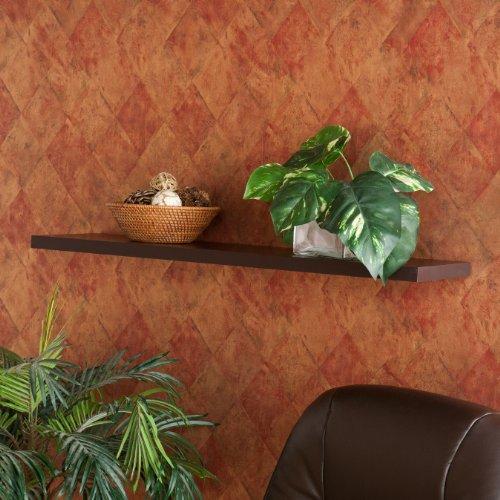 Southern Enterprises Aspen Floating Shelf, 36-Inch, Espresso