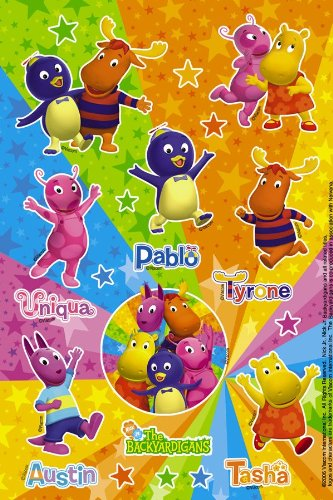 Backyardigans Party Stickers (The Backyardigans Games Halloween)