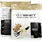 Quantified Nutrition Q // WHEY 100% Whey Protein Isolate 30 Servings Mexican Vanilla Flavor
