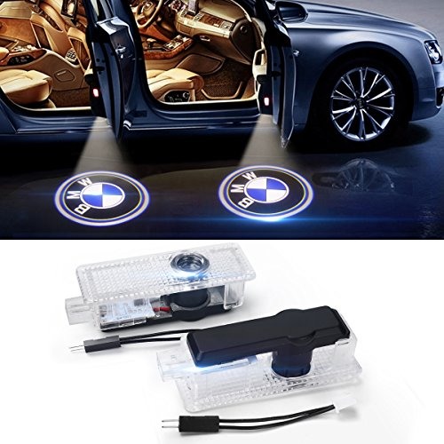 Bmw 325i Car - JIAFENG BMW Car Door LED Light Logo HD Projector Easy Installation Low Consumption Shadow Lights 2 Pcs