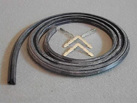 Clips. Universal 3 Sided Cooker Oven Rubber Door Seal