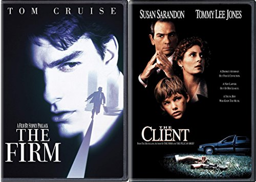 John Grisham Legal Thrillers 2-Movie Collection - The Client & The Firm 2-DVD Bundle