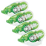 Plus Corporation Glue Tape TG-610BC-VE - Vellum Adhesive, 4-Pack (60388)