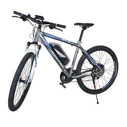 Fischer Herren E-bike MTB Proline Evo - Shimano 24 Gang Deore, Matt Grau, 27.5, 19029