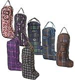 Centaur Classic Plaid/Fashion Boot Bag
