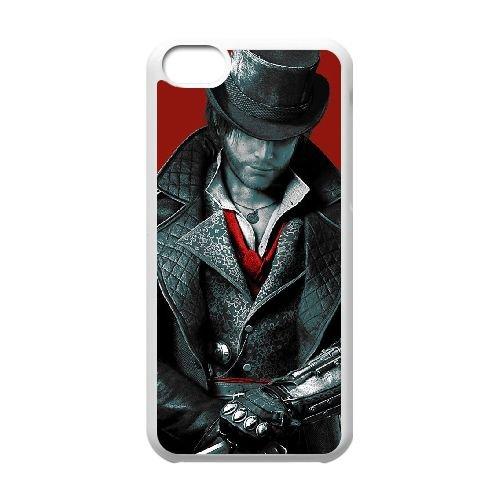 O5X16 Jacob Frye T3S2XN cas d'coque iPhone de téléphone cellulaire 5c couvercle coque blanche KK2RJG3OM