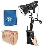 Aputure LS C120t 3000K Light Storm COB120 CRI96+ LSC120t Pro Kit + case V Mount