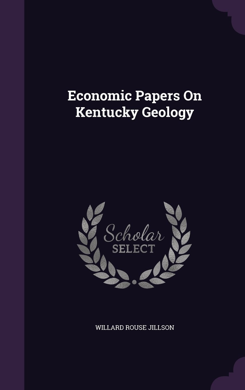 Download Economic Papers On Kentucky Geology pdf epub
