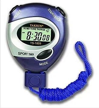 Schwimmen Radfahren Zeit Checks Generic Digital LCD Timer Professioneller Sport Chronograph Z/ähler Stoppuhr mit Alarm f/ür Leichtathletik