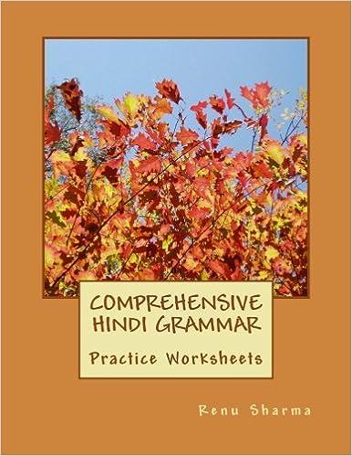 Comprehensive Hindi Grammar: Practice Worksheets (Hindi Edition ...