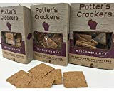 Organic Caraway Rye Crackers For Sale