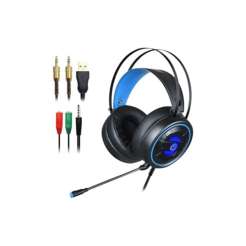 DLAND Gaming Headset with Mic and Change