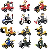 Best Toys Compatible With LEGOs - Minifigures Lego-Compatible Set - 12pcs Building Toy Bricks Review