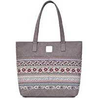 ArcEnCiel Women's Casual Canvas Tote Bags Shoulder Handbag Travel Bag