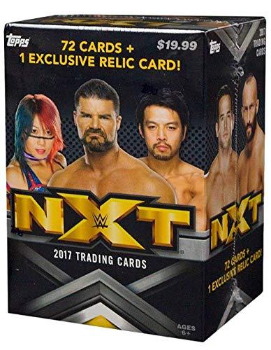 2017 Topps WWE NXT Wrestling Blaster Box Factory Sealed