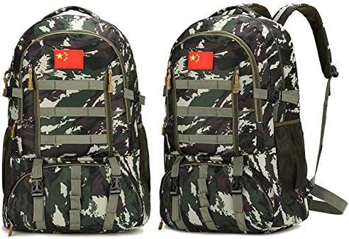 BAJIMI アウトドアハイキングキャンプ旅行60L軍の戦術的なリュックサックサイクリングバッグ/スタイル/Aのためのバックパック