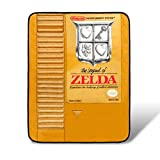 Legend of Zelda Nintendo The Gold Cartridge Fleece Throw Blanket | 45 x 60 Inches