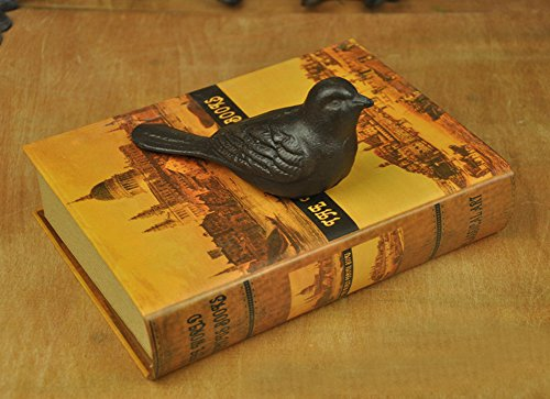 Echolife Adorable Metal Bird Door Stopper Cast Iron Door Stop Decorative for Home Office (Cast Iron Bird) by Echolife (Image #4)
