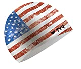 TYR Old Glory Flag Swimming Cap
