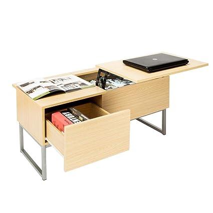 Amazon Com Lemonus Modern Lift Top Coffee Table Hidden