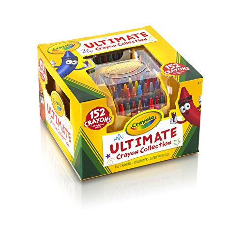Crayola; Ultimate Crayon Collection; Art Tools; 152 Colors, Durable Storage Case, Long-Lasting Colors>