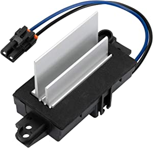 Upgraded Design Heating and Air Conditioning Blower Motor Resistor AC Blower Control Module for Buick Cadillac Chevy GMC Oldsmobile # 4P1516 MT1805 RU-631RU-631 JA1639 BMR34